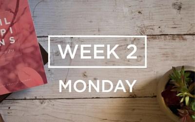 Week 2: The Joy of Serving