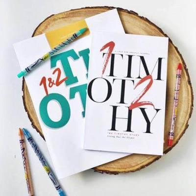 1&2 Timothy Study Journal for Kids