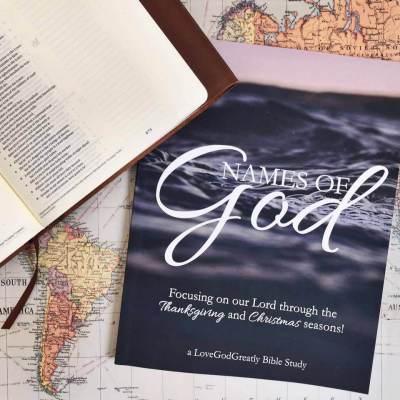 Names of God Journal