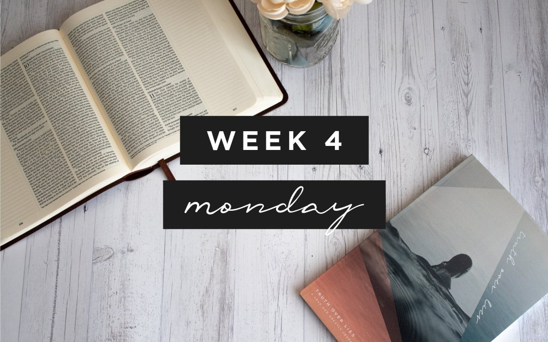 Week 4- My Life Is Not About Me