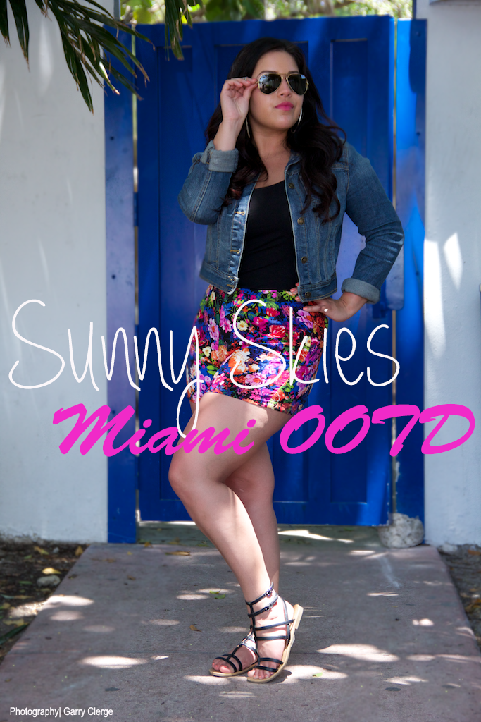 Sunny Skies|Miami OOTD-Floral Shorts