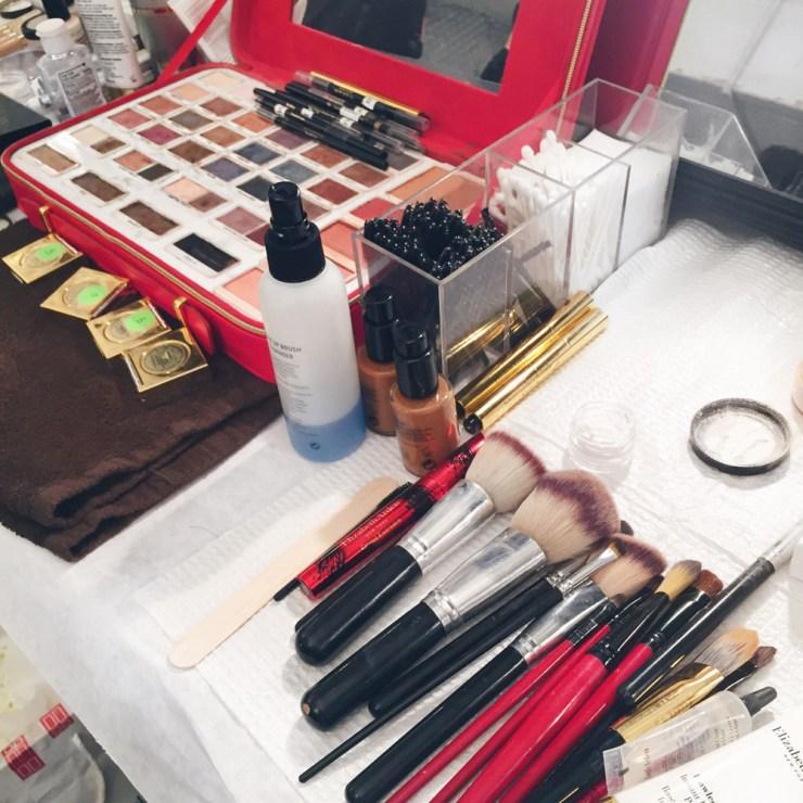 Elizabeth Arden Makeup at Dennis Basso NYFW