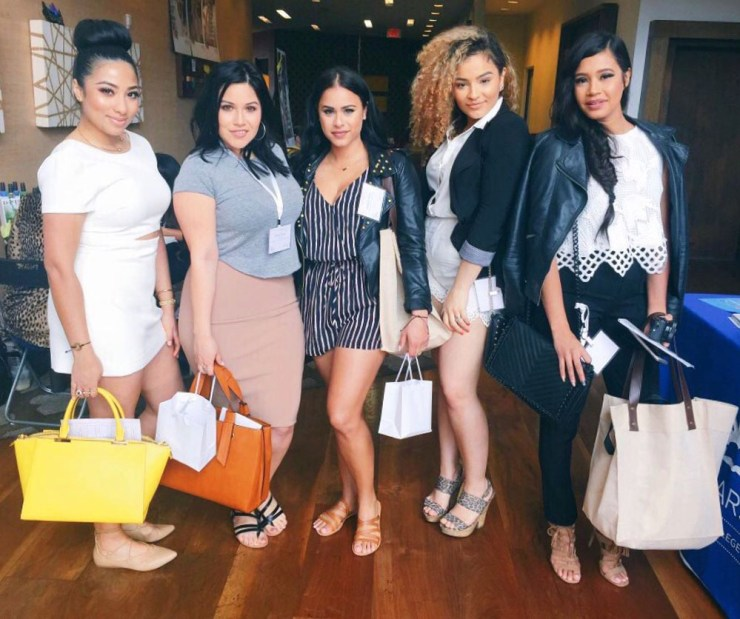 Latina Bloggers at We All Grow Summit