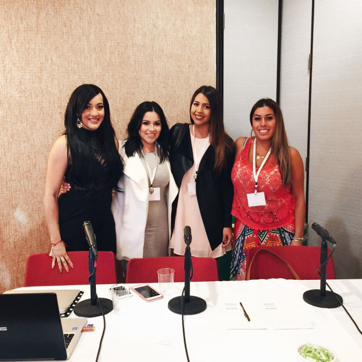 We All Grow Summit Latina Blogger Panel