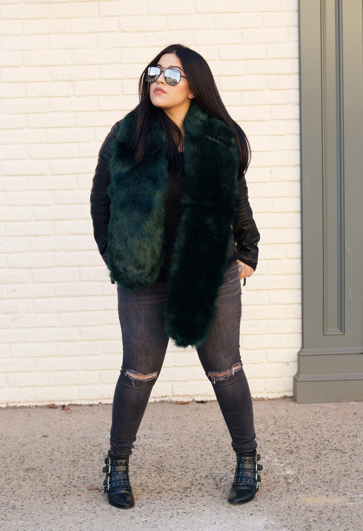 faux-fur-scarf-outfit