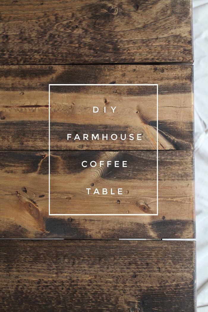 DIY Farmhouse Coffee Table Love Grows Wild
