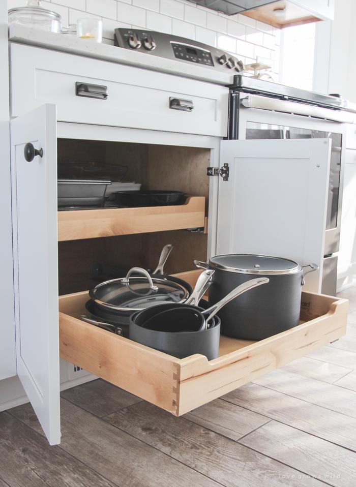 kitchen makeover cabinets love