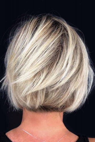 Rooty Blonde Bob #shorthaircuts #shorthairstyles #shorthair #pixiehaircuts #blondehair
