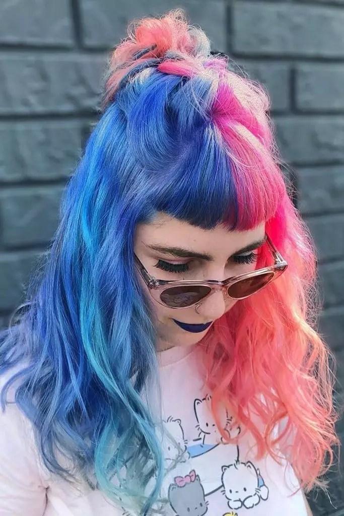 E- Girl Two Shades Hair