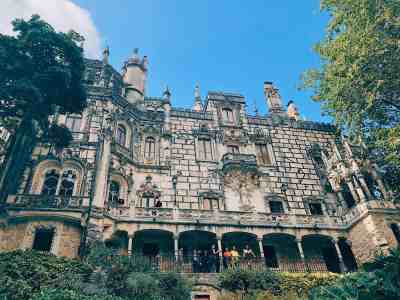 Exterior Quinta de Regeleria, one of the best things to do while in Lisbon