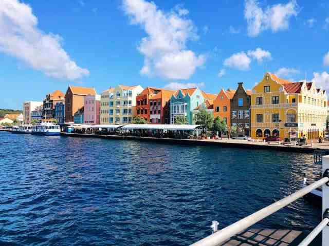 Colorful buildings of Punda, one of the top things to do in Curacao
