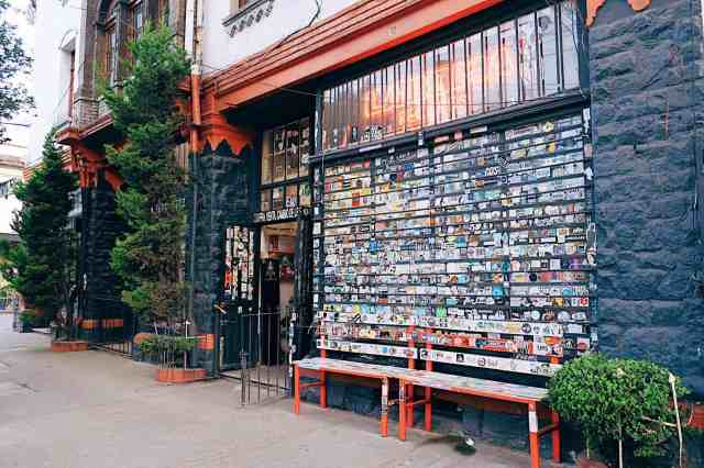 A hipster record store in Roma Norte, one of the top things to do in Mexico City