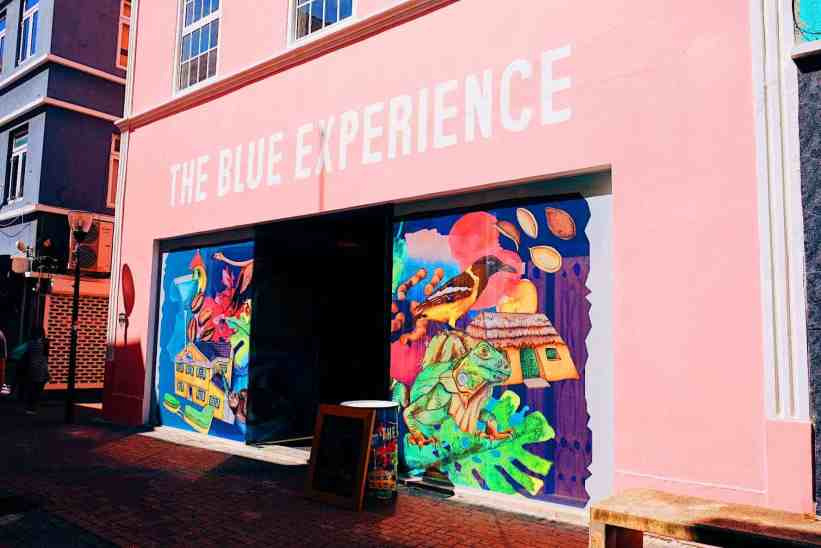 The Blue experience blue curacao liqueur tasting, one of the top things to do in Curacao