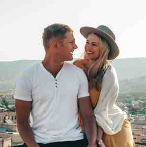 Kylie and Scott, travel bloggers and authors of Love Hard, Travel Often