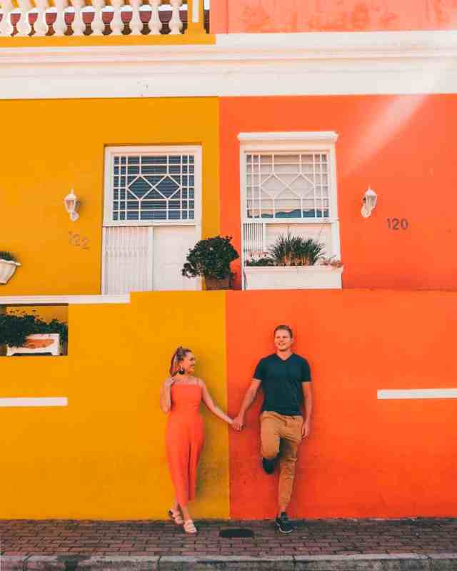 Colorful walls in Bo Kaap, one of the top things to do in Cape Town