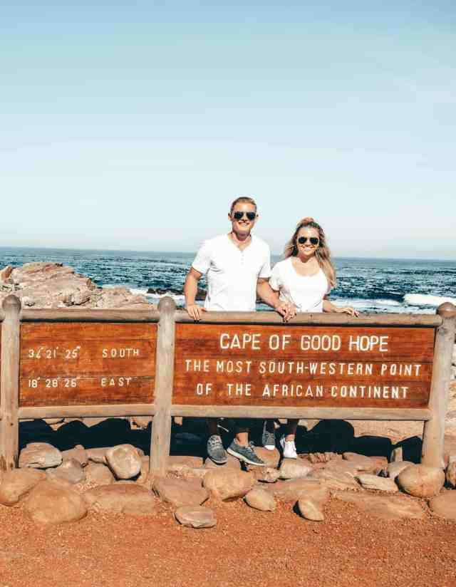 Cape of Good Hope sign, one of the top things to do in Cape Town