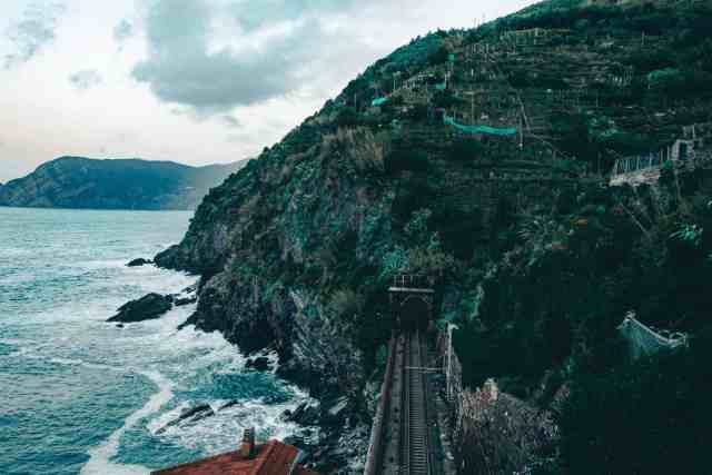 Cinque Terre by train, one of the top things to do in Cinque Terre
