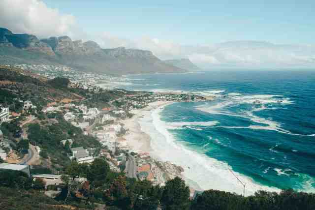 Views of Cape Town from The Rock