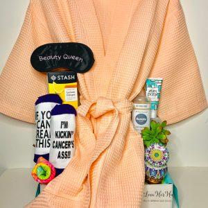 peach robe