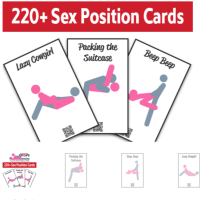 Christian Friendly Sex Position Printable Cards