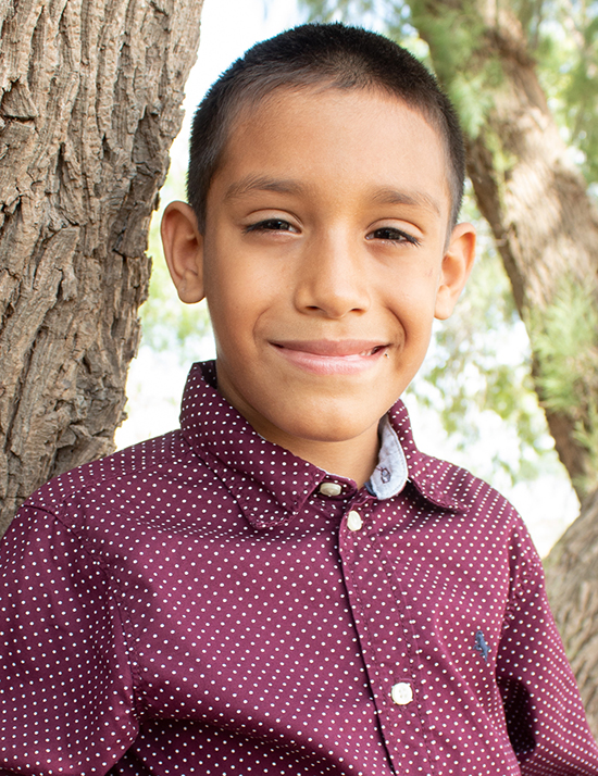 Choose to sponsor Javier
