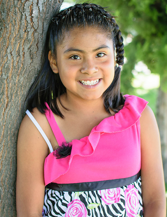 Choose to sponsor Ximena