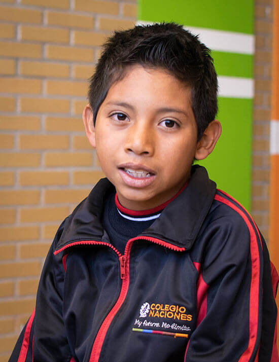 Choose to sponsor Jesús