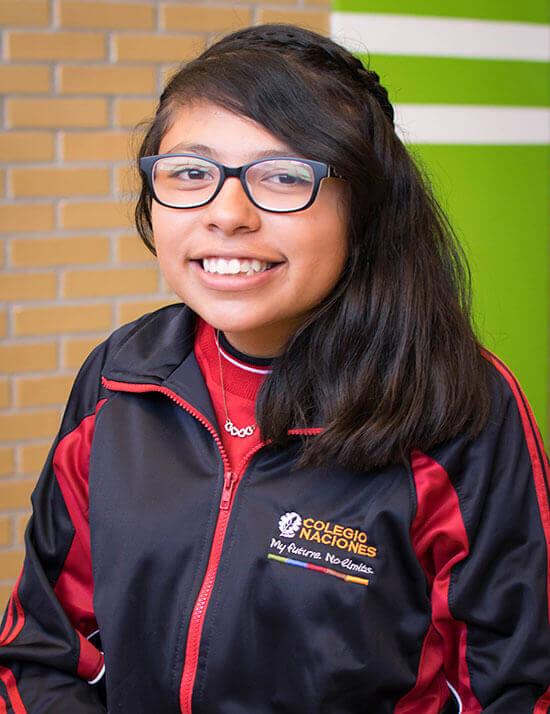 Choose to sponsor Alejandra