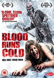 Blood Runs Cold DVD cover horror