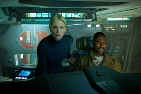 Prometheus Charlize Theron Idris Elba