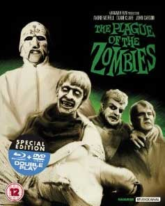 The Plague of the Zombies Blu Ray DVD