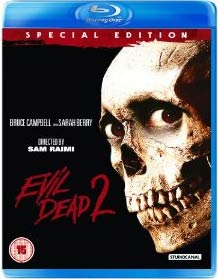 Evil Dead ii 2 special edition blu ray cover