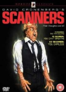 Scanners 1981 dvd cover