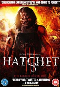 Hatchet iii 3 dvd cover