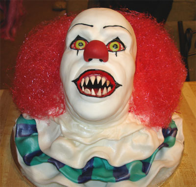 IT cake clown