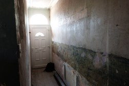 Hallway waiting to be plastered