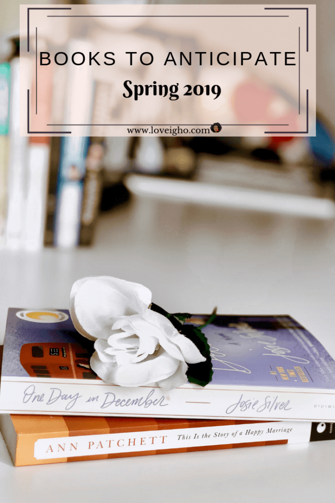 Books to anticipate this spring | www.loveigho.com