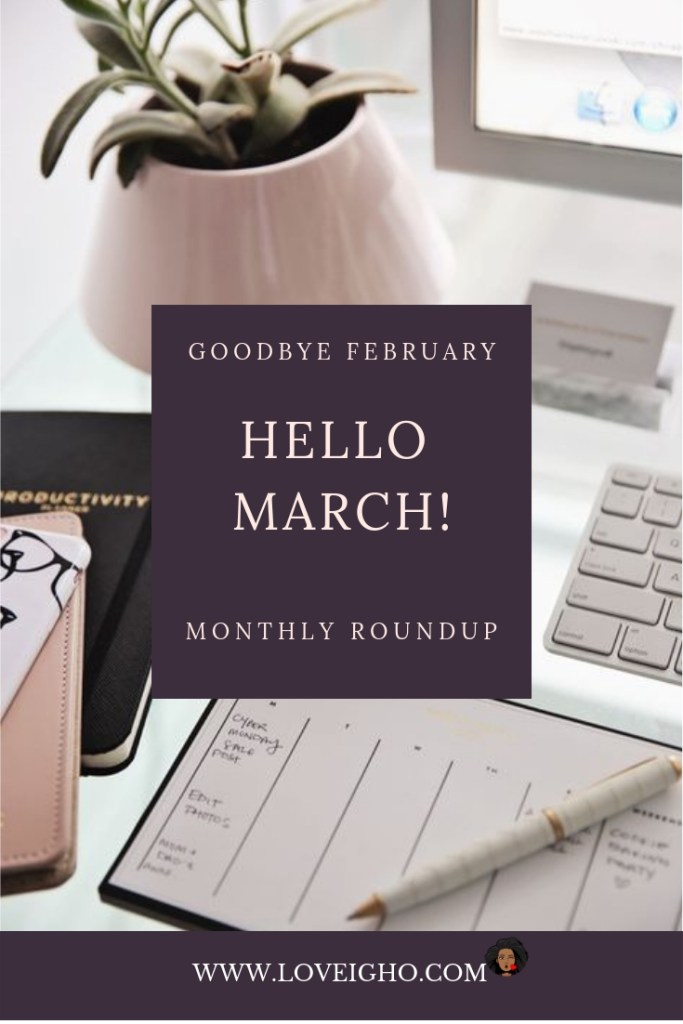 Feb 2019 Monthly Turnover | Love Igho