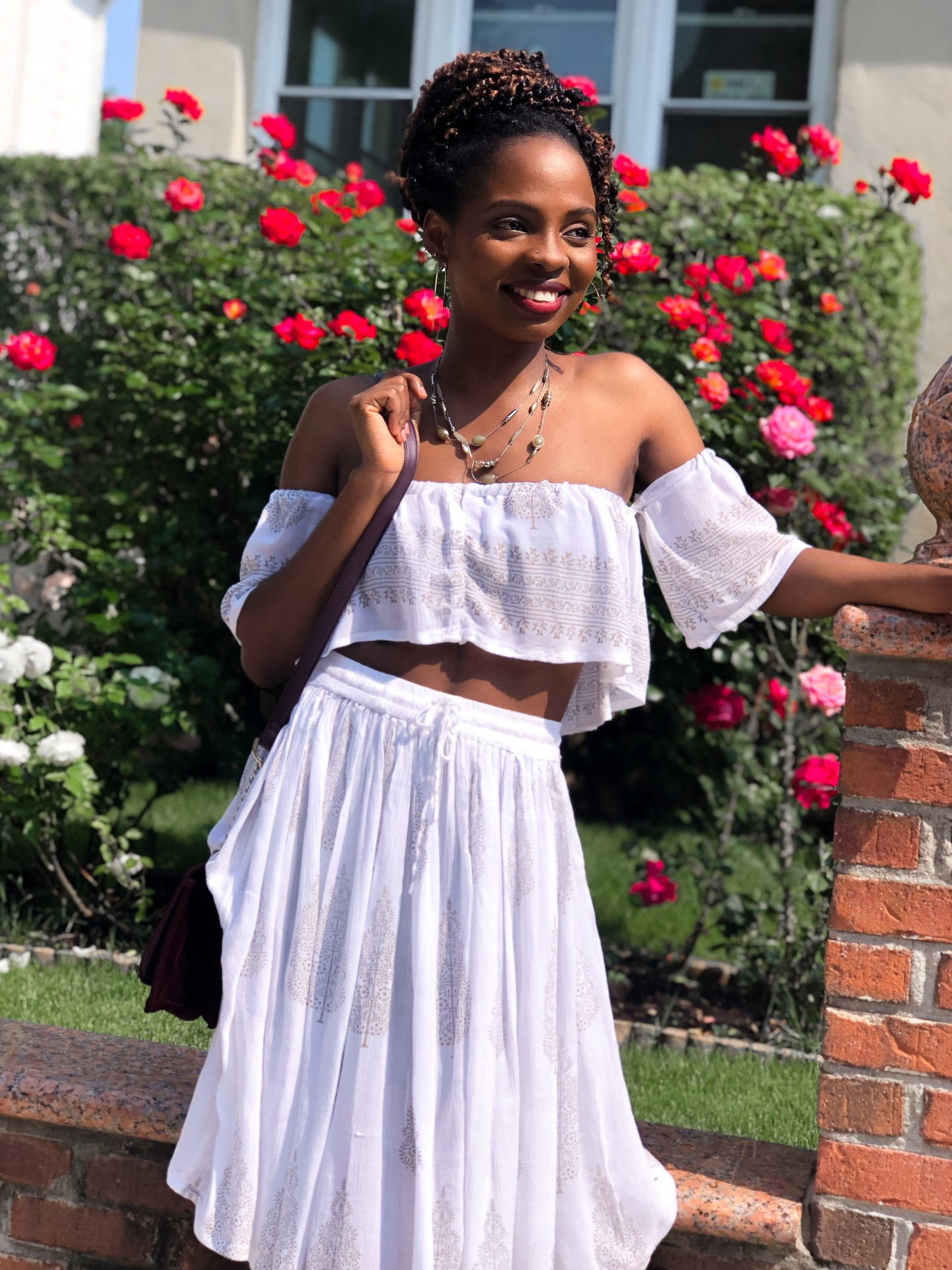 Before and After -  The Two-Piece Crop top and Skirt | Love Igho