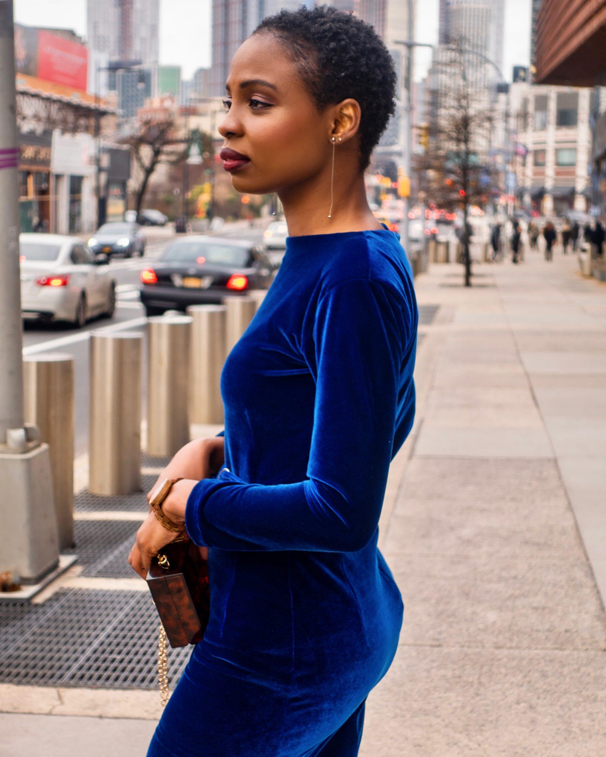 DIY Velvet Bodycon Dress | Love Igho