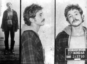 Bill Ayers - mug shot from late 1960s