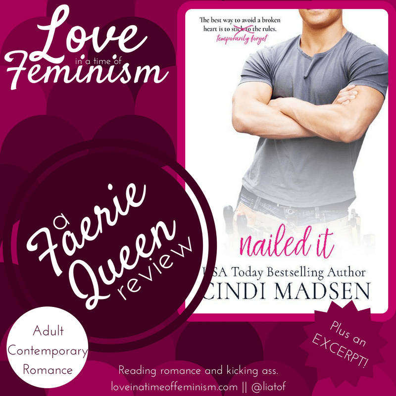 Review & Excerpt: Nailed It by Cindi Madsen