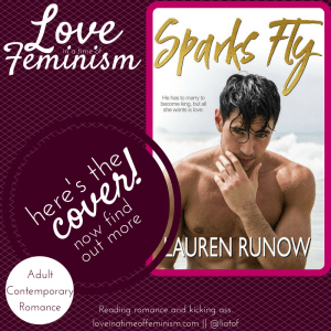 Cover Reveal: Sparks Fly by Lauren Runow