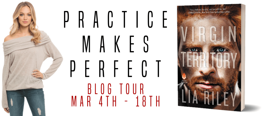 Review & Excerpt: Virgin Territory by Lia Riley