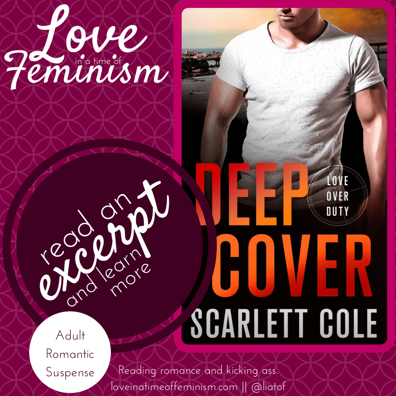 Excerpt & Giveaway: Deep Cover by Scarlett Cole