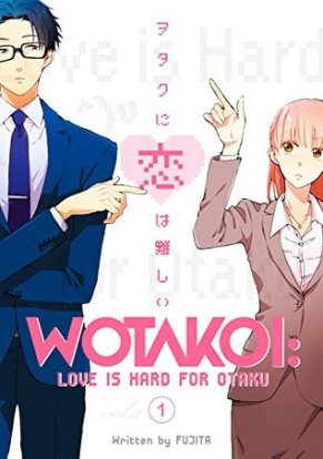 Wotakoi- Love is Hard for Otaku vol 1 cover