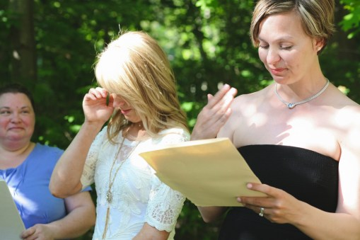 Amy and Erin Coffehouse Wedding Ceremony   Photography by Brett Alison-1