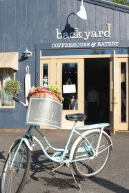 Backyard Coffehouse and Eatery in Ogunquit Maine