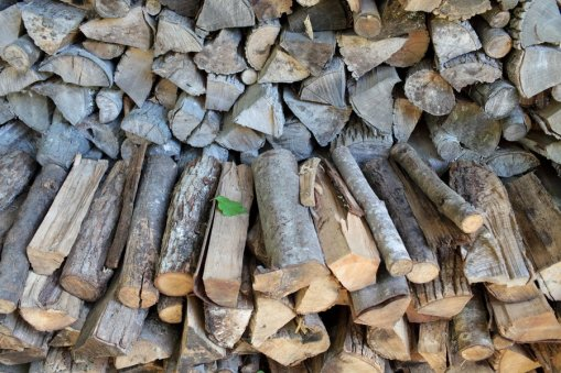 woodpile-rustic-wedding-photography