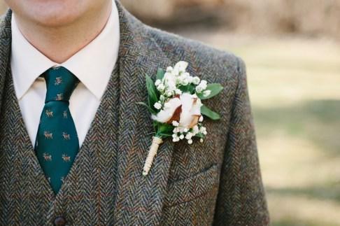 cotton-boutonniere-wedding